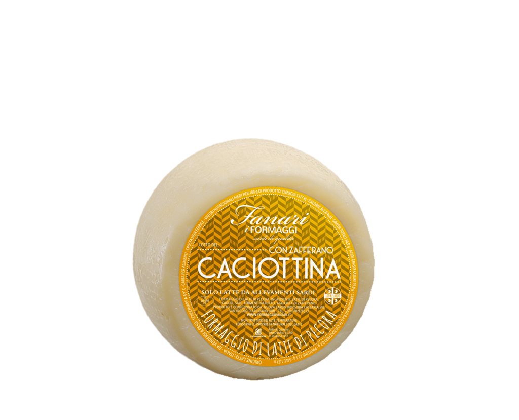 CACIOTTINA WITH SAFFRON
