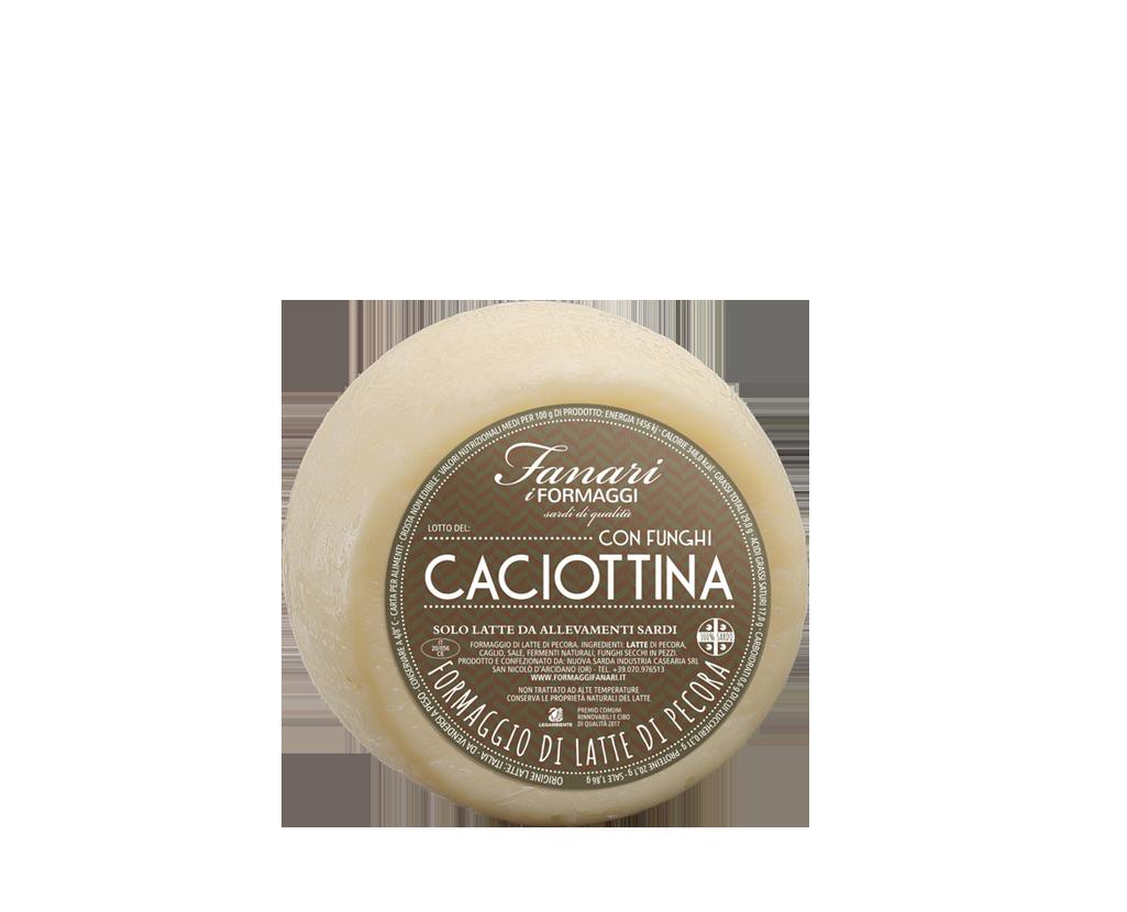 CACIOTTINA WITH MUSHROOMS